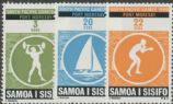 Samoa SG327-9 Third South Pacific Games set of 3